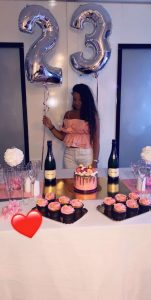 18 ans sweet table